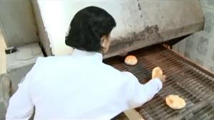 Fabricação do pão pita